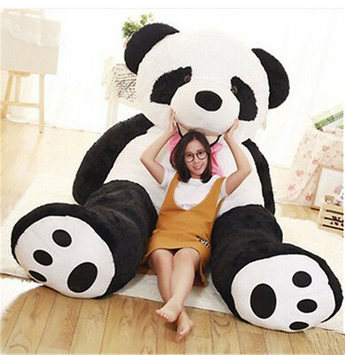 Giant America Plush Bear Stuffed Soft Big Huge Panda Bear Toy 3 Sizes Best Gifts