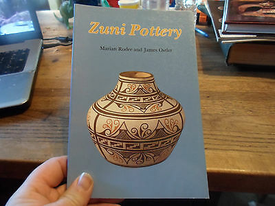 Southwest Native American Indian Pottery - Zuni Pottery By Marian Rodee & Ostler