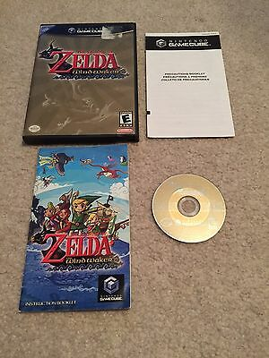 RARE Legend of Zelda: The Wind Waker RARE Complete Free SHIP! Nintendo GameCube