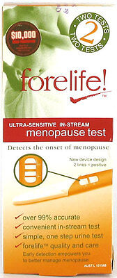 Forelife! Ultra-Sensitive Menopause Test X 2
