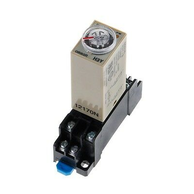 AC 220V 3 Types H3Y-2 H3Y Power Delay Time Tempo rizador Relay+ Base