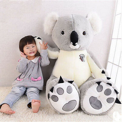 Jumbo Plush Animal Koala Toy Big Huge Stuffed Koalas Doll 4 Sizes for Children