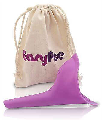 Portable Female Urinal EasyPee For Travel, Camping, Hiking, Festivals Spill