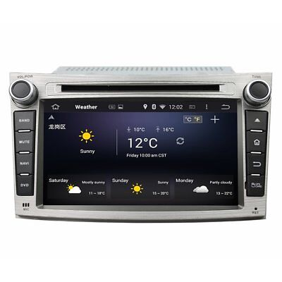 Octa Core Android 6.0 Car Stereo DVD GPS Player Navi for Subaru Legacy/Outback