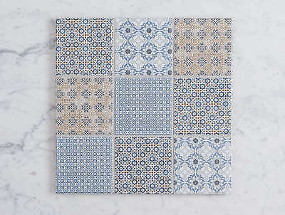 Kiama Encaustic Look Square Mosaic Tiles