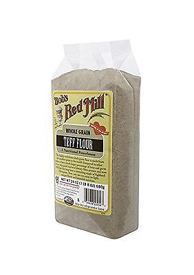 Bob's Red Mill Teff Flour 24 Ounce (Pack of 4) 24oz (4 Count) Free Shipping