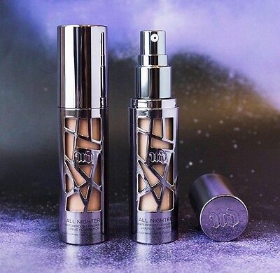 NEW Authentic Urban Decay All Nighter Liquid Foundation - Choose Shade - AUS