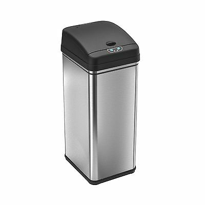 iTouchless Deodorizer Automatic Sensor Touchless Trash Can 49 L... Free Shipping