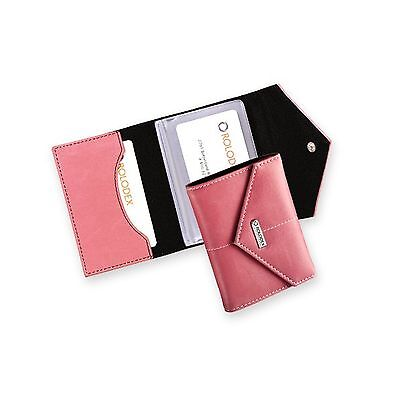 Rolodex Pink Ribbon Business Card Case 36-Card (1734451) 36-Cards Free Shipping