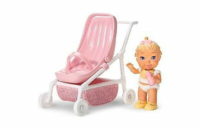 Strolling with Baby Caring Corners Dollhouse Play Set with Infa... Free Shipping