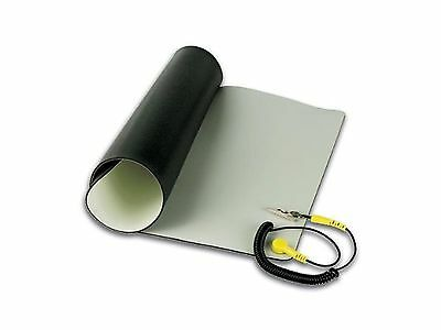 Velleman AS4 Anti-Static Mat with Ground Cable - Desktop static... Free Shipping