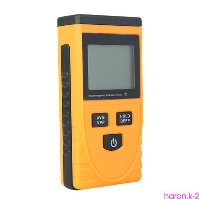 Electromagnetic Radiation Detector Digital Meter Dosimeter Test Counter Geiger