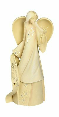 Enesco Foundations November Monthly Angel Figurine 7-1/2-Inch Free Shipping