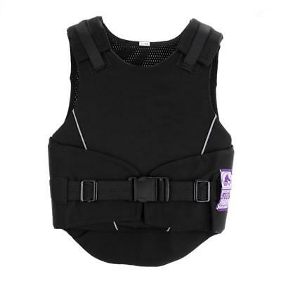 MagiDeal Kids Horse Riding Vest Safety Eventing Equestrian Body Protector M