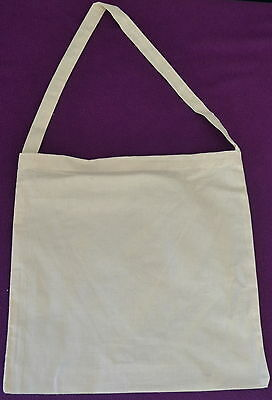 CALICO BAGS -Library-Natural colour  approx 36cmx 36cm