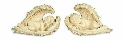 AngelStar 2-Piece Angel in Wings Set 3-1/2-Inch Free Shipping