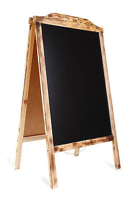 Frame Sign Board Sidewalk Menu Pavement Chalkboard Erase Double sided RO BURN