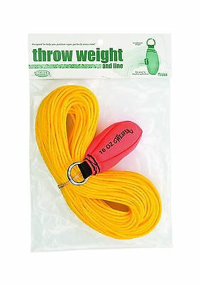 Weaver Leather Throw Weight and Line Kit Orange 16 oz Free Shipping