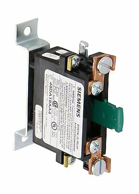 Siemens 48DA18AA4 Ambient Compensated Bimetal Overload Relay Op... Free Shipping