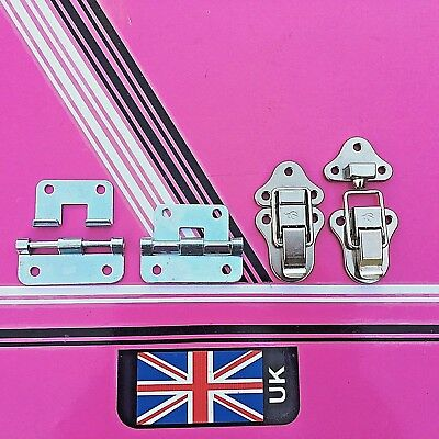 catch draw bolt & lift off - hook over hinge set 2x hinge 2x catch flight case