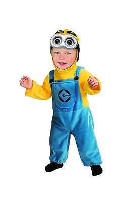 Rubie's Costume Despicable Me 2 Minion Romper, Blue/Yellow, Infant, 6-12 Months