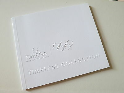 Original Omega Timeless Collection Olympic  Pins Booklet