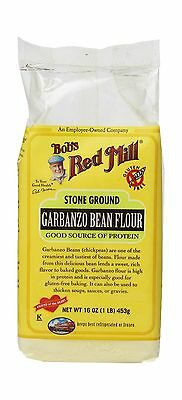 Bobs Red Mill Garbanzo Bean Flour 16 Ounce (Pack of 4) Free Shipping