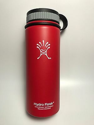 Hydro Flask 18 oz Vacuum Insulated Stainless Steel Water Bottle, Wide Mouth MINT