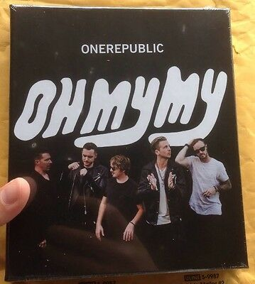 One Republic Signed Oh My My Boxset & Proof Music Autograph New & Sealed