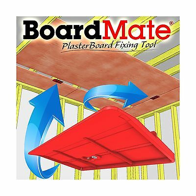 BoardMate - Drywall Fitting Tool Supports The Board In Place Wh... Free Shipping