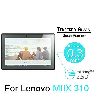 """For Lenovo MIIX 310 10.1"""" Premium 9H Real Tempered Glass Screen Protector Film"""