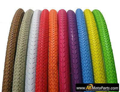 Bicycle Tires, 700x35c Road Tyres, Multiple Colours