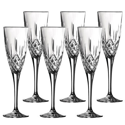 NEW Royal Doulton Earlswood Champagne Flute Set 6pce
