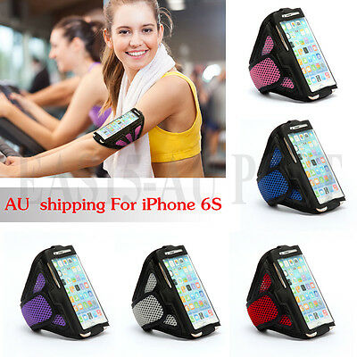 For Apple iPhone 6 S Premium Sports Mesh Running Armband Case Cover Holder