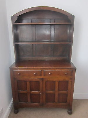 Oak Dresser 1950s vintage kitchen , living room
