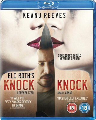 Knock Knock [Blu-ray + Digital HD] Free Shipping