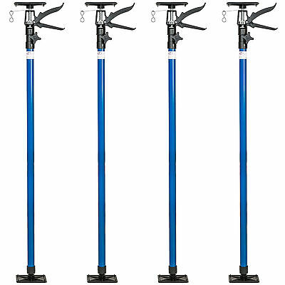 4x Etai télescopique support barre tiges traverse de plafond set 115-290cm 30kg