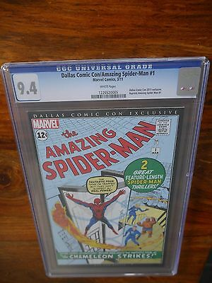 Amazing Spider-man #1 Dallas Comic Con, 9.4 cgc