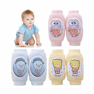 Pro1rise 3 Pairs Baby Crawling Knee Pads Super Breathable Adjus... Free Shipping