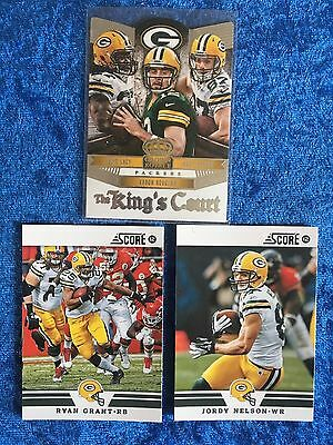 Green Bay Packers NFL Trading Cards 3 Card Mixed Lot