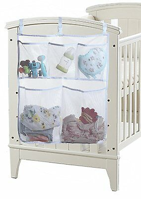 Sleeping Lamb Baby Nursery Organizer for Clothing Diapers Toys Hanging Storage 5