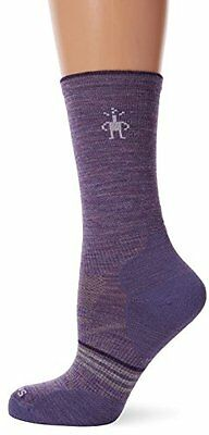 Smartwool PHD Outdoor Ultralight Crew, Calze Donna, Lavender, L (N4g)