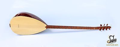 Turkish Professional Long Neck Juniper Baglama Saz For Sale Msl-105-2