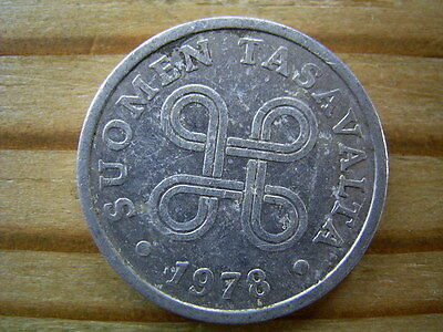1978 Finland  5  Pennia Coin Collectable