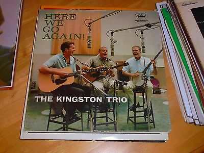 Lp/ The Kingston Trio /here We Go Again (1959 Original Mono Uk Capitol