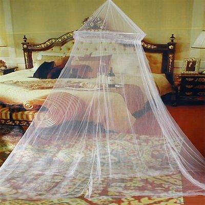 Elegant Round Lace Insect Bed Canopy Netting Curtain Dome Mosquito Net YKUS