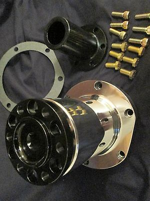 """New 8"""" blower snout polished complete hemi nitro ford chevy dragster street rod"""