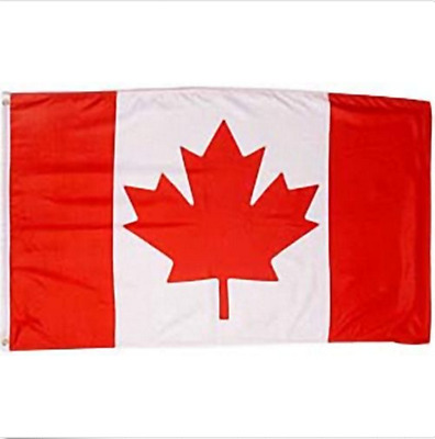 Huge Giant 5' x 8' High Quality Canadian Flag - Free Canada & USA Shipping