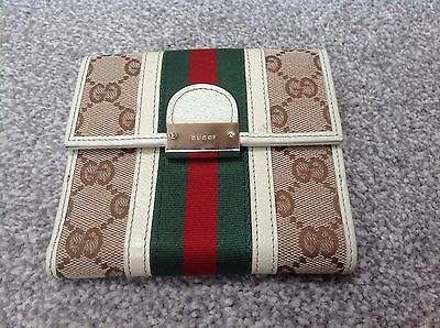 NEW Authentic Gucci French Flap Ladies Purse : Classic / Vintage