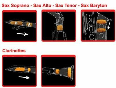 music world Saxmute Dämpfer - Altsaxophon